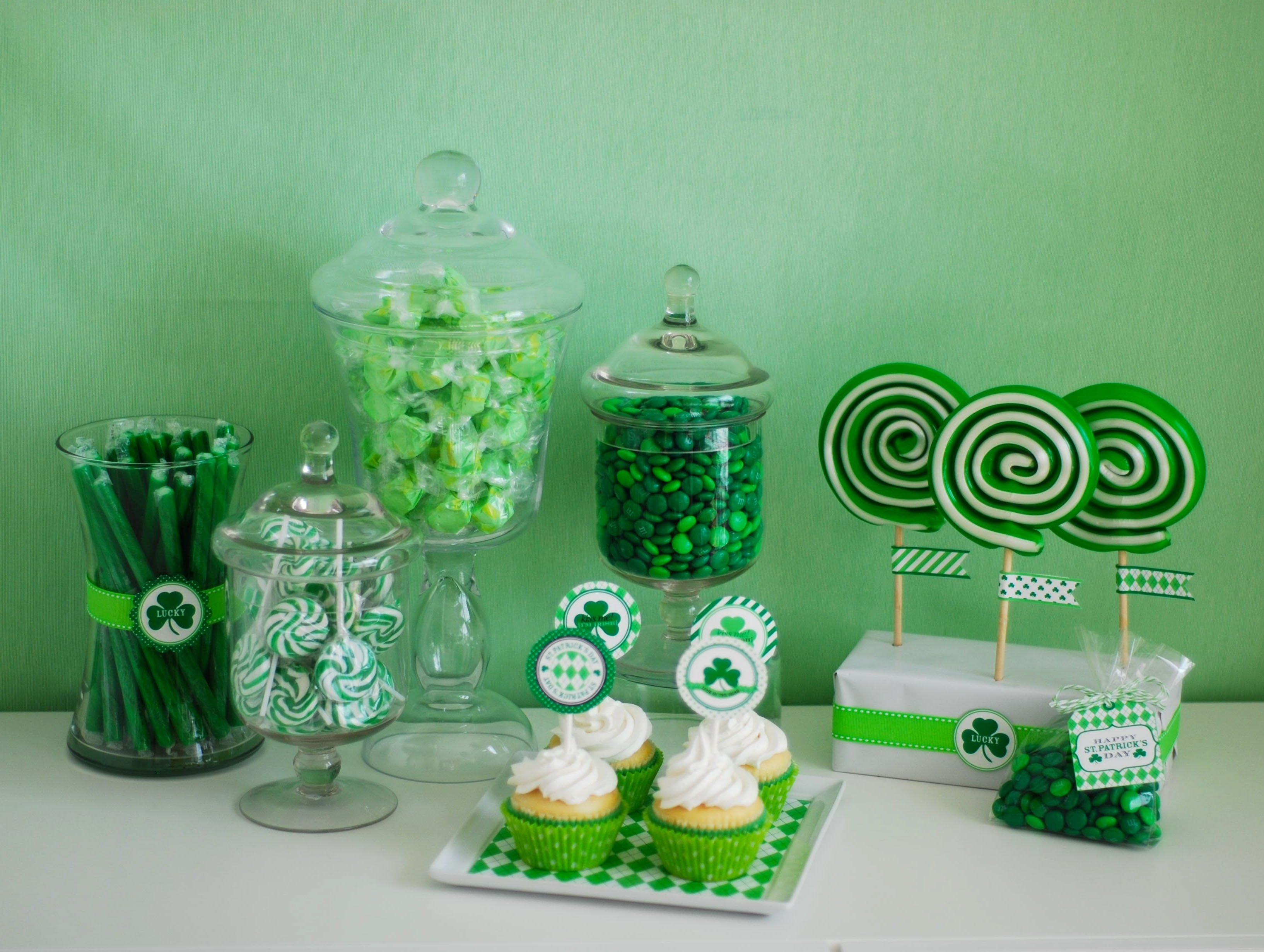 10 Lovable St Patrick Day Party Ideas st patricks day printable sale anders ruff custom designs llc 2020