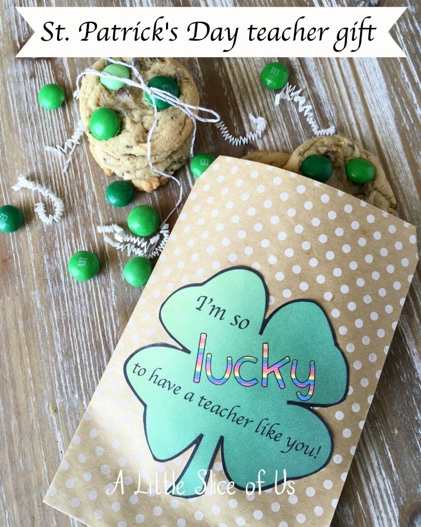 st. patrick's day teacher gift idea -