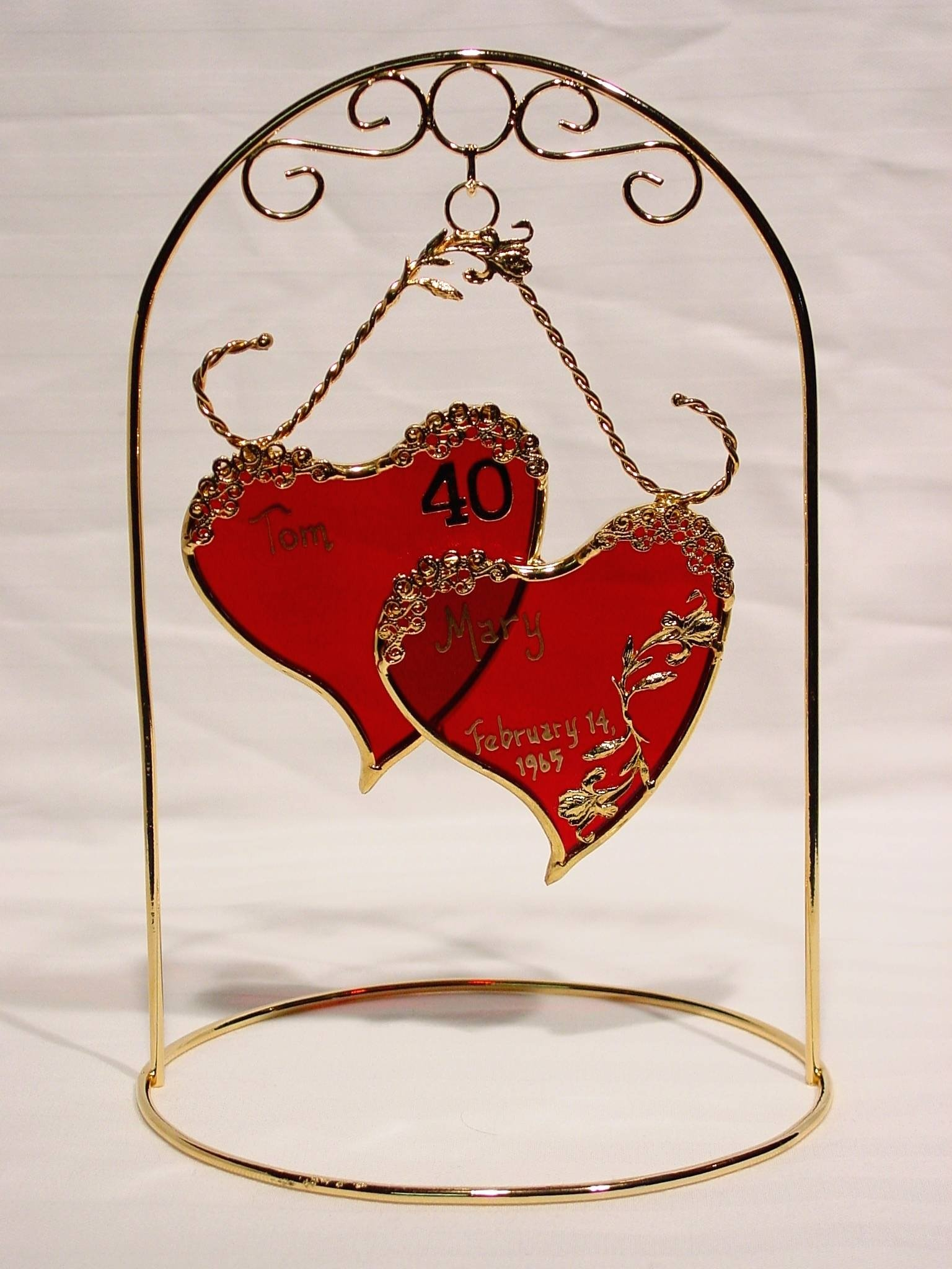 10 Unique Gift Ideas For 40Th Wedding Anniversary stained glass and unique gifts light house gift unique 2020
