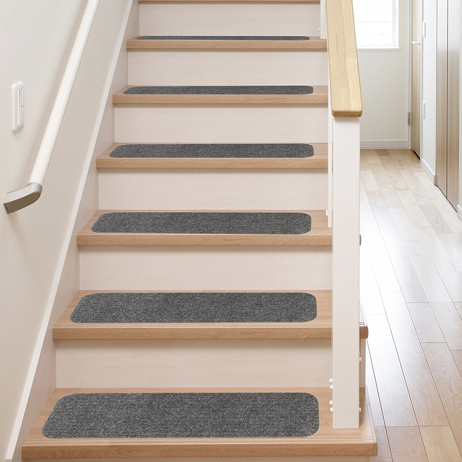 10 Gorgeous Ideas For Stairs Instead Of Carpet stair carpet treads installation stairs decoration stair carpet 2021