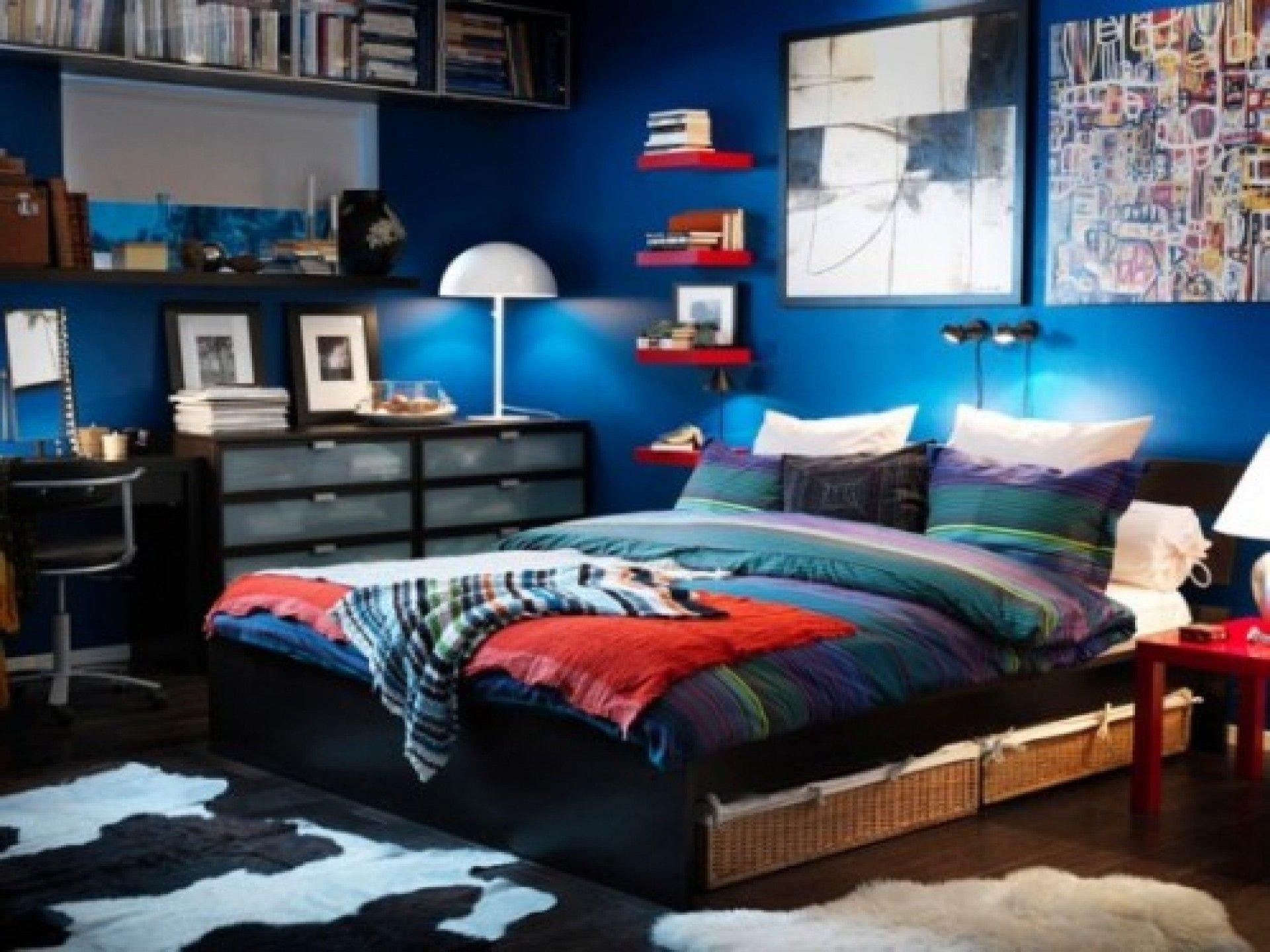 10 Beautiful Cool Room Ideas For Teenage Guys stair storage cool room ideas for college guys sofa bed feat 2020