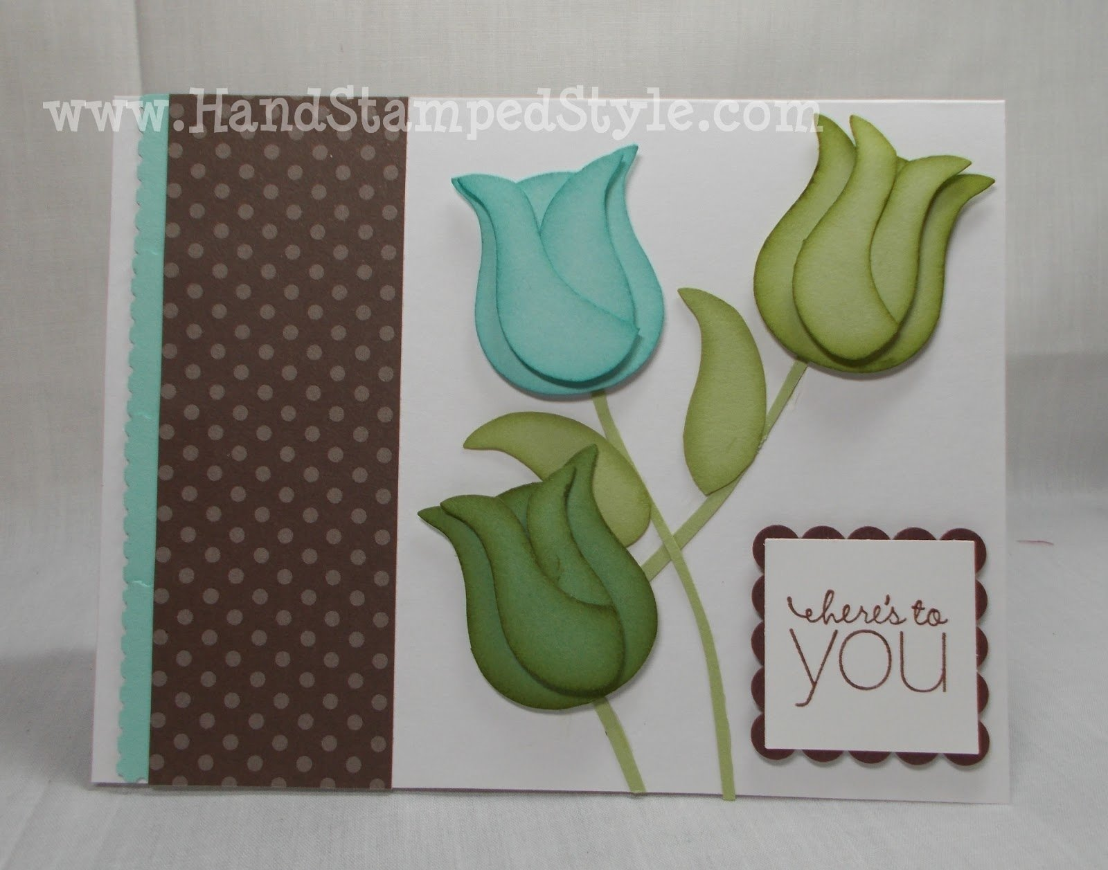 10 Elegant Stampin Up Owl Punch Ideas stampin up owl punch tulip card 2020