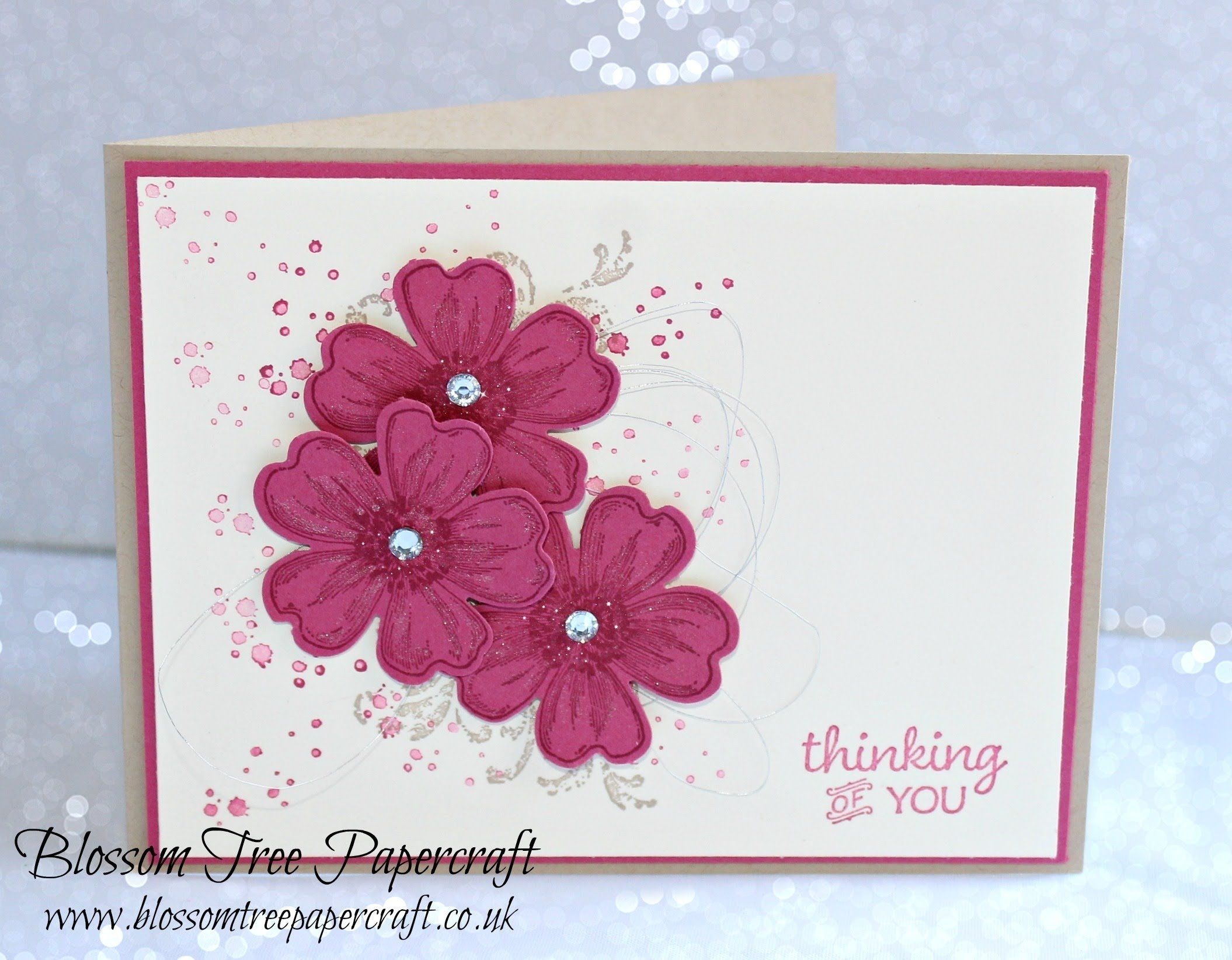 10 Most Popular Thinking Of You Card Ideas stampin up timeless textures with flower shop thinking of you card