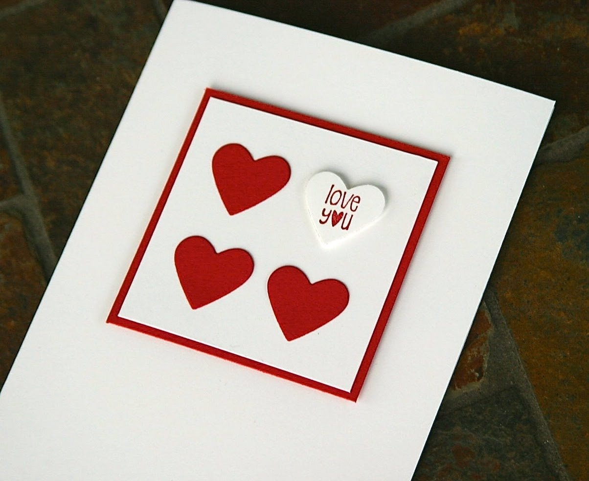 stampin' up valentine cards - youtube