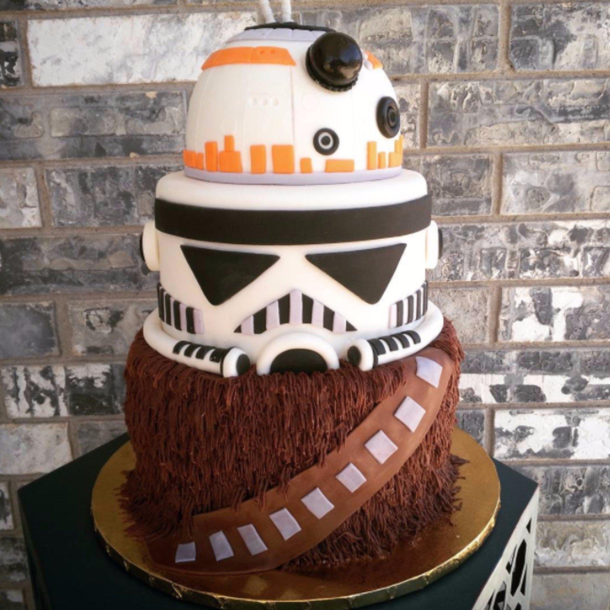 star wars birthday cakes | popsugar moms