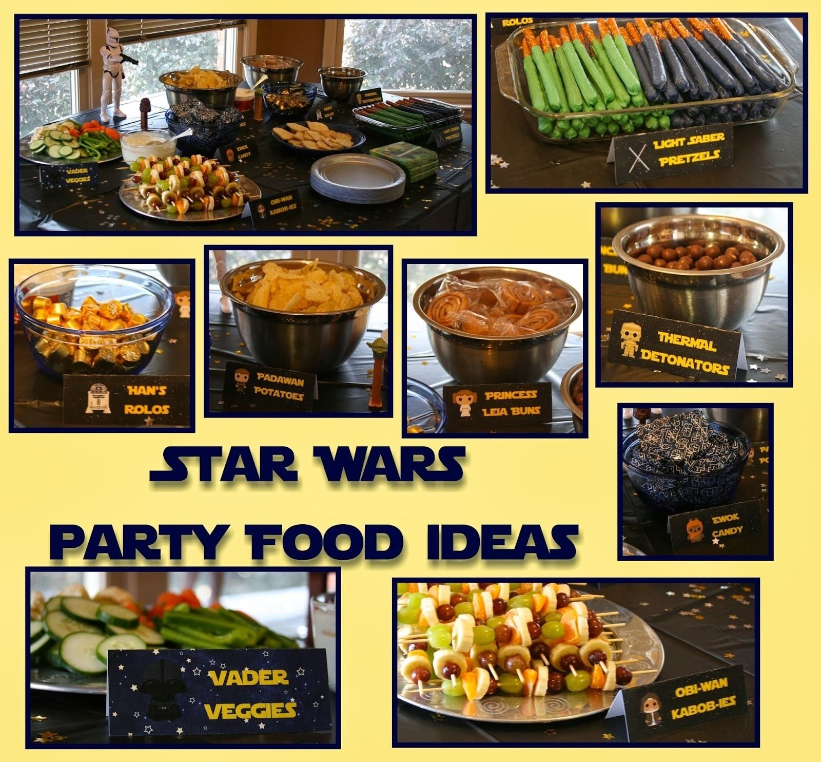 10 Unique Star Wars Party Food Ideas star wars birthday party food a disney moms thoughts star wars 2020