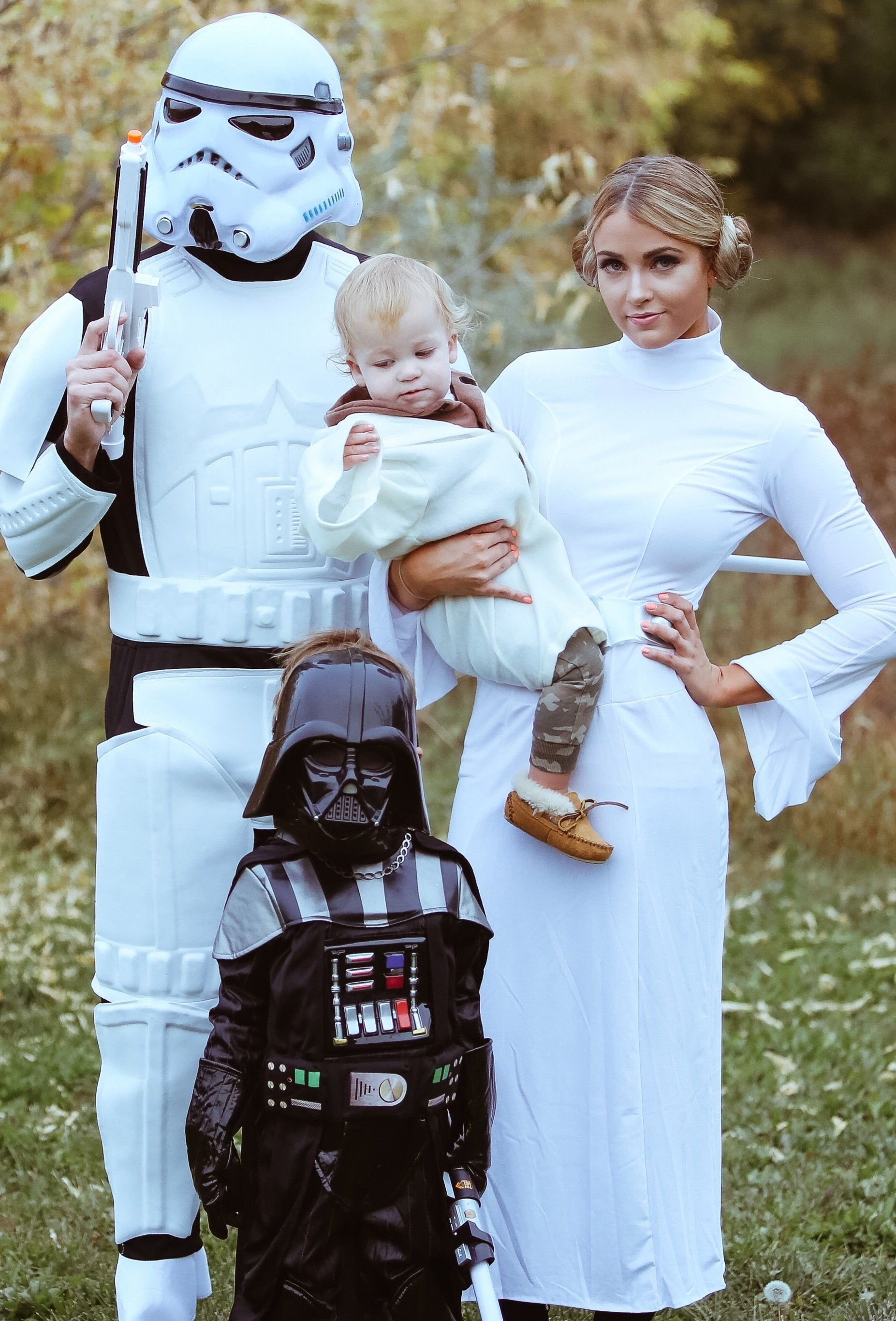10 Amazing Family Halloween Costume Ideas With Baby star wars costume pinteres 2021