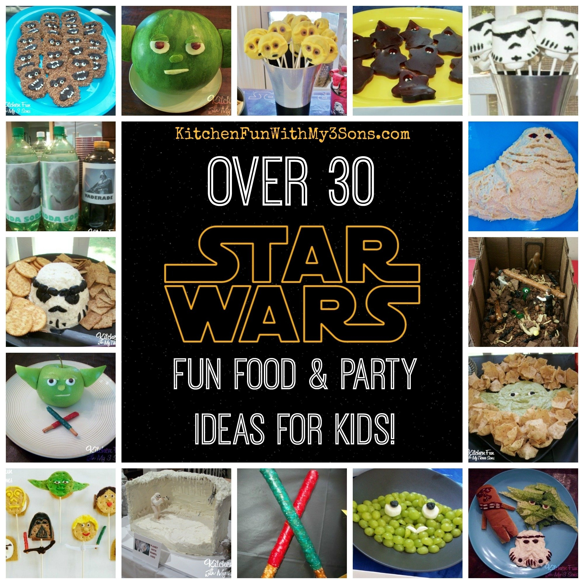 10 Unique Star Wars Party Food Ideas star wars fun food party ideasour full collection kitchen 2020