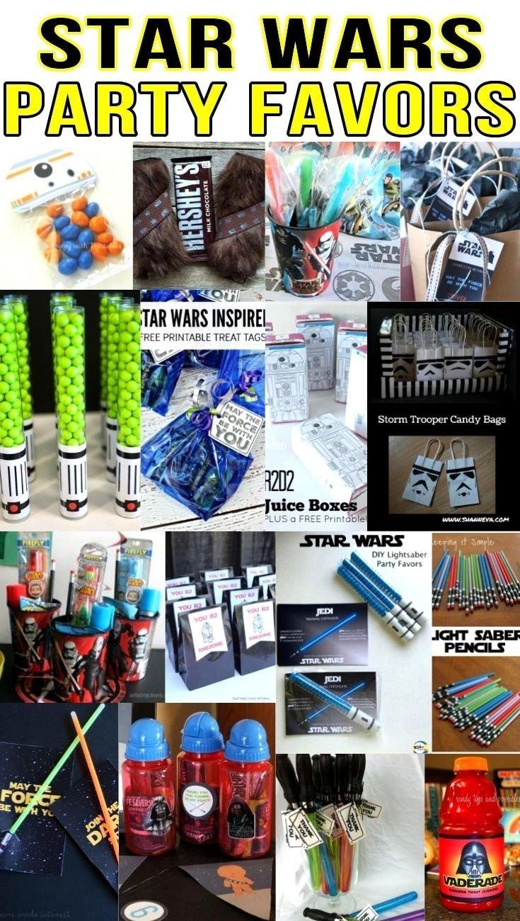 10 Trendy Star Wars Party Favor Ideas star wars party favor ideas star wars party star wars birthday 2020
