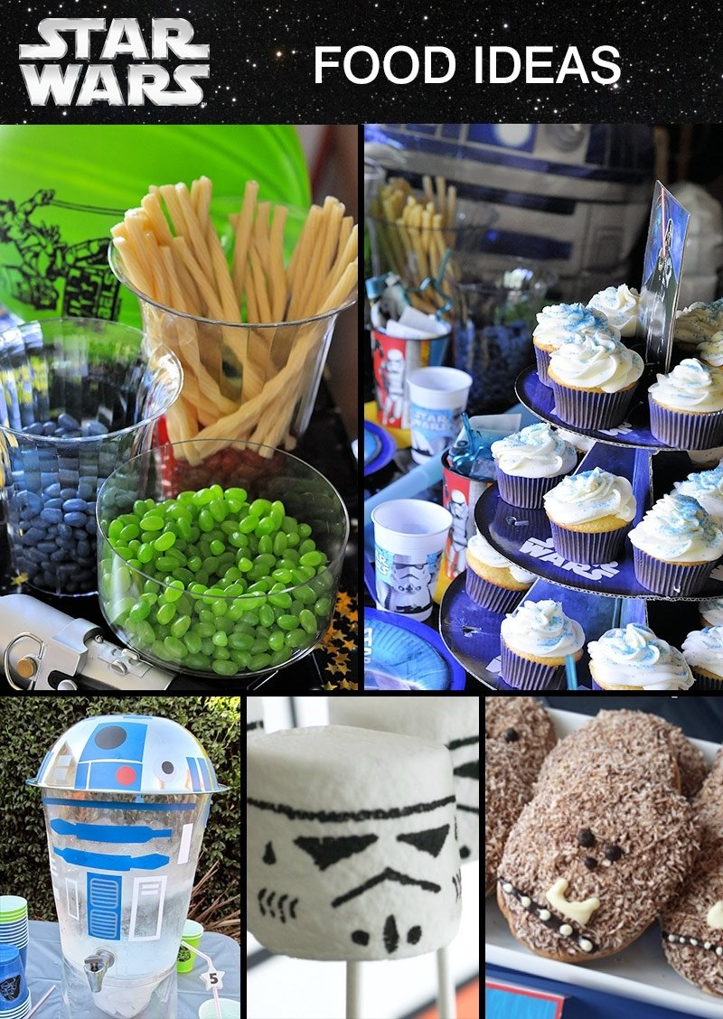 10 Unique Star Wars Party Food Ideas star wars party ideas at birthday in a box star wars pinterest 2 2020