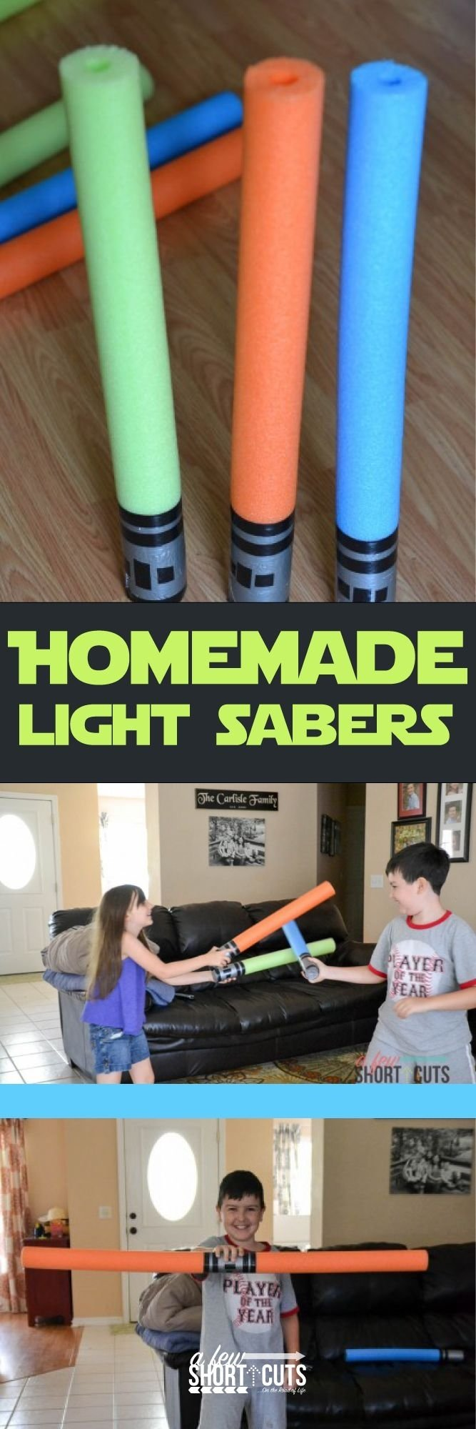 10 Trendy Star Wars Party Favor Ideas star wars party pool noodle light saber tutorial themey 2020