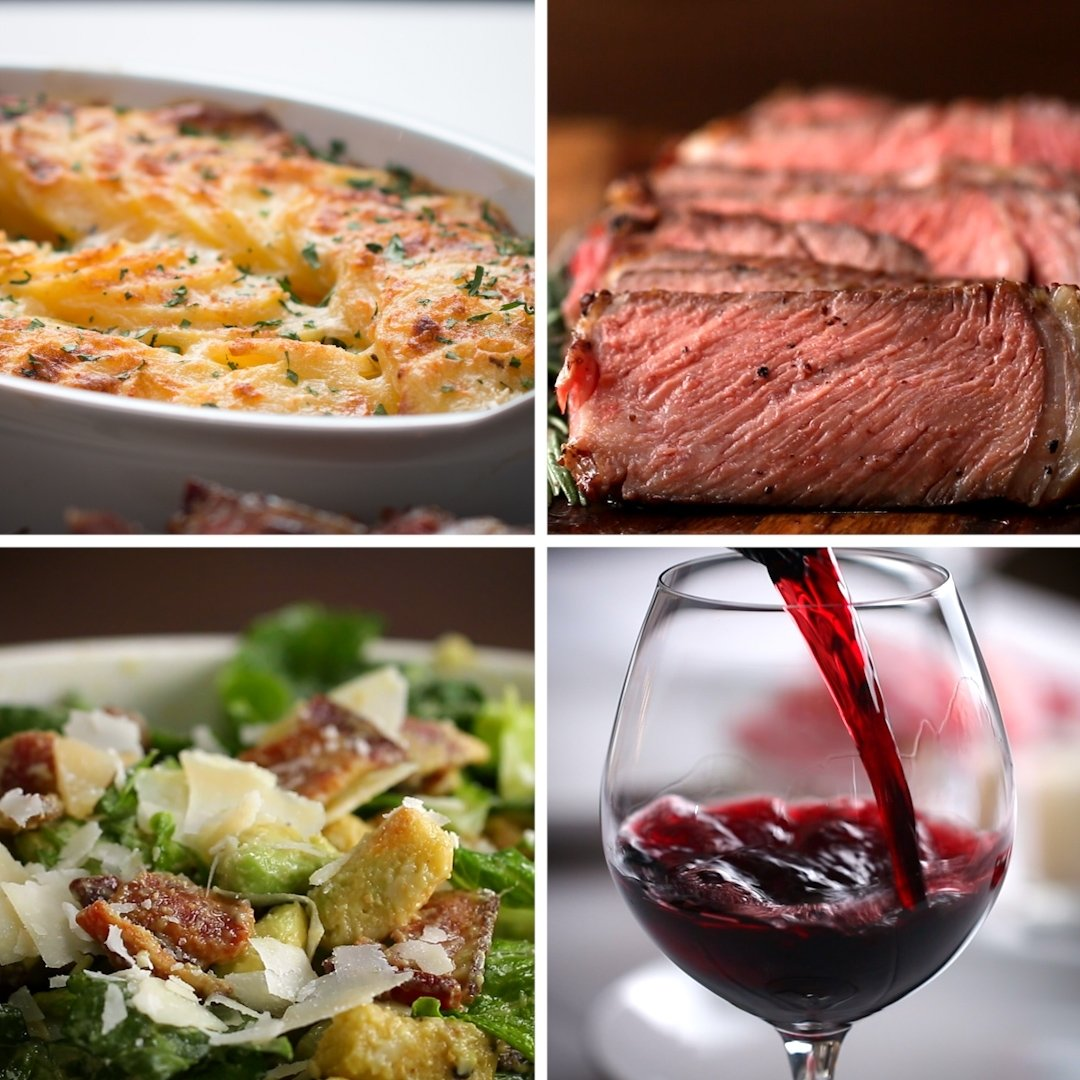 10 Stylish Great Dinner Ideas For Two steak dinner for two recipes 2 2020