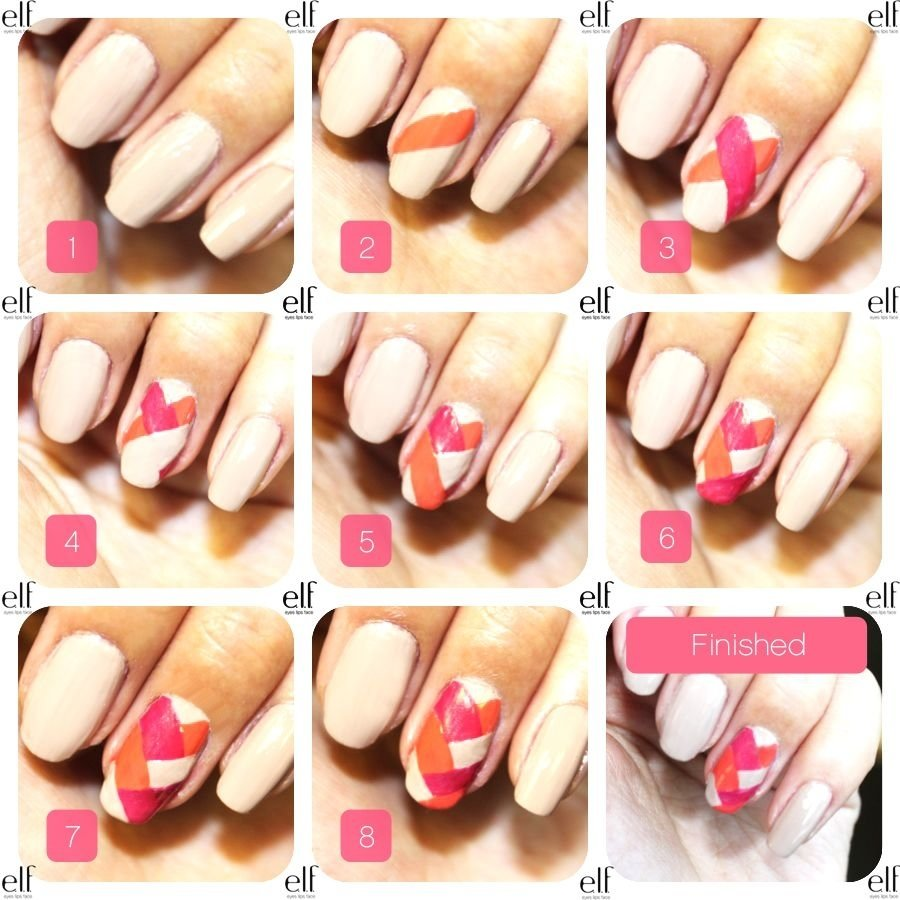 10 Fantastic Nail Art Ideas Easy Step By Step stepstep nail tutorials for short nails version of the 2021