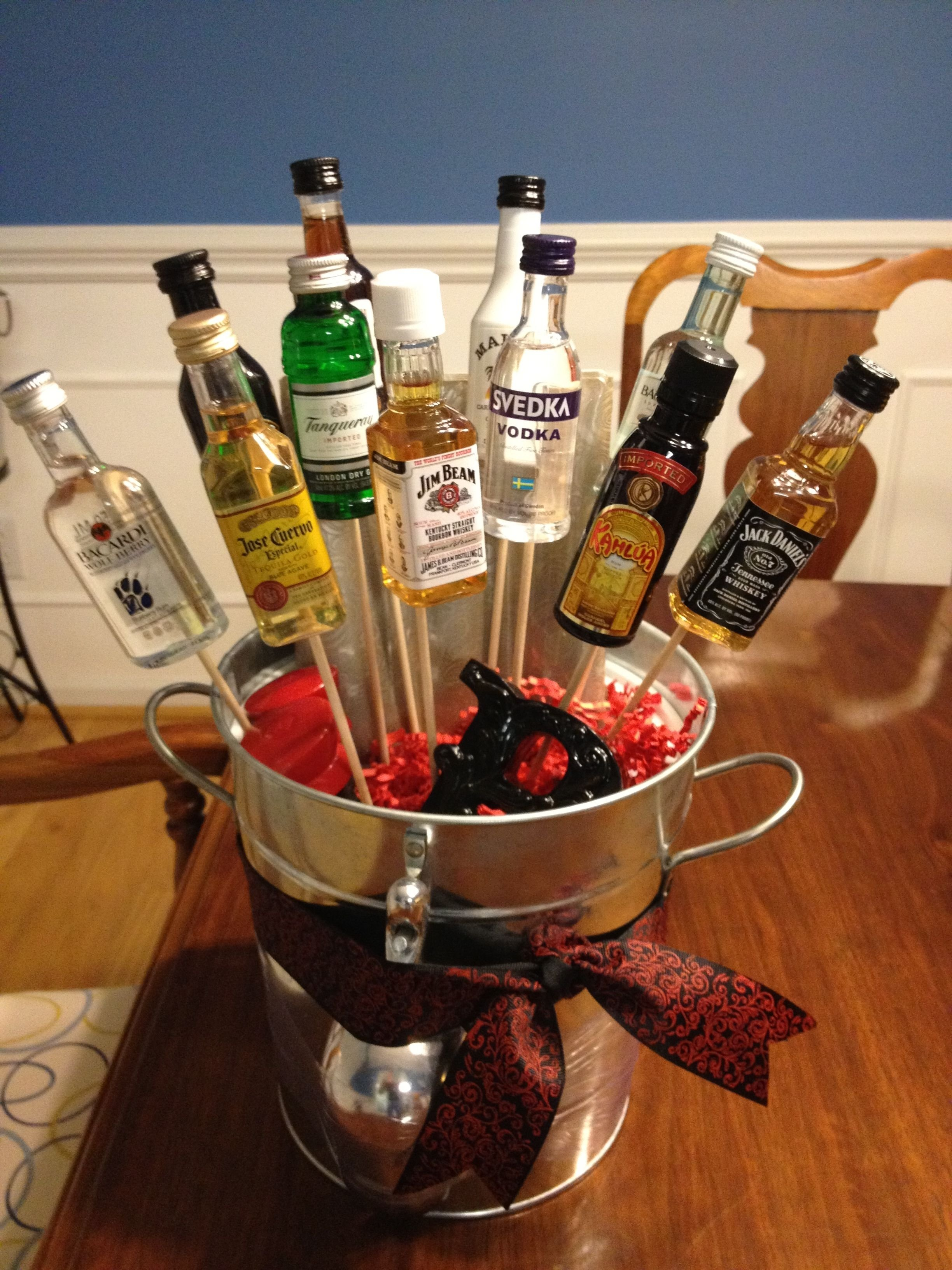 10 Gorgeous Stock The Bar Party Gift Ideas stock the bar gift wedding shower ideas for pinterest bar 1 2021