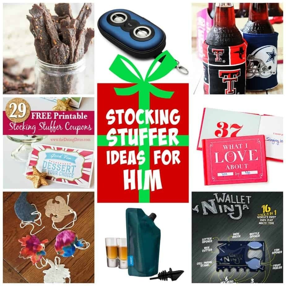 stocking stuffer ideas for him - under $10
