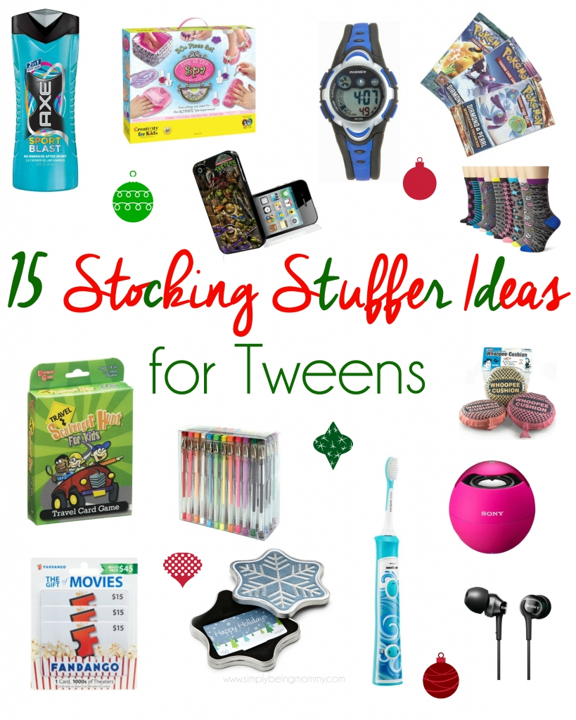 stocking stuffer ideas for tweens - unique stocking stuffer