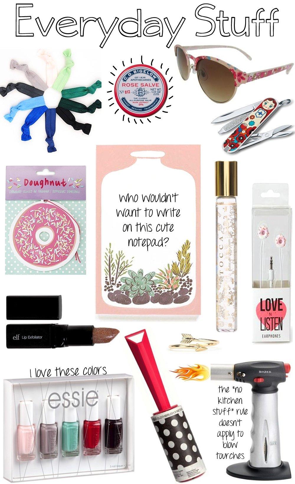 10 Wonderful Stocking Stuffer Ideas For Girlfriend stocking stuffers for her making mondays 1