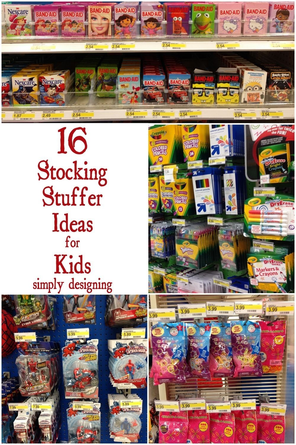 10 Unique Stocking Stuffers Ideas For Kids stocking stuffers for kids target giveaway mykindofholiday 1 2021