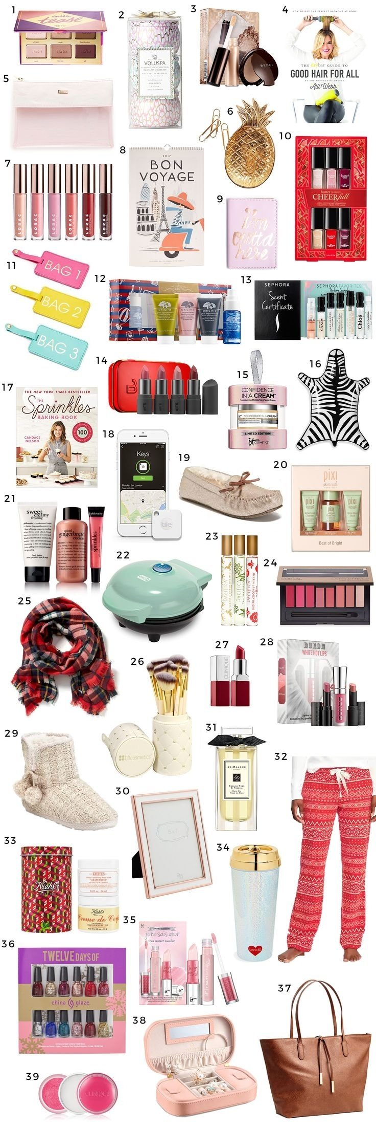 10 Stylish Good Ideas For Christmas Presents stocking stuffers for teens stocking stuffers madewell and stockings