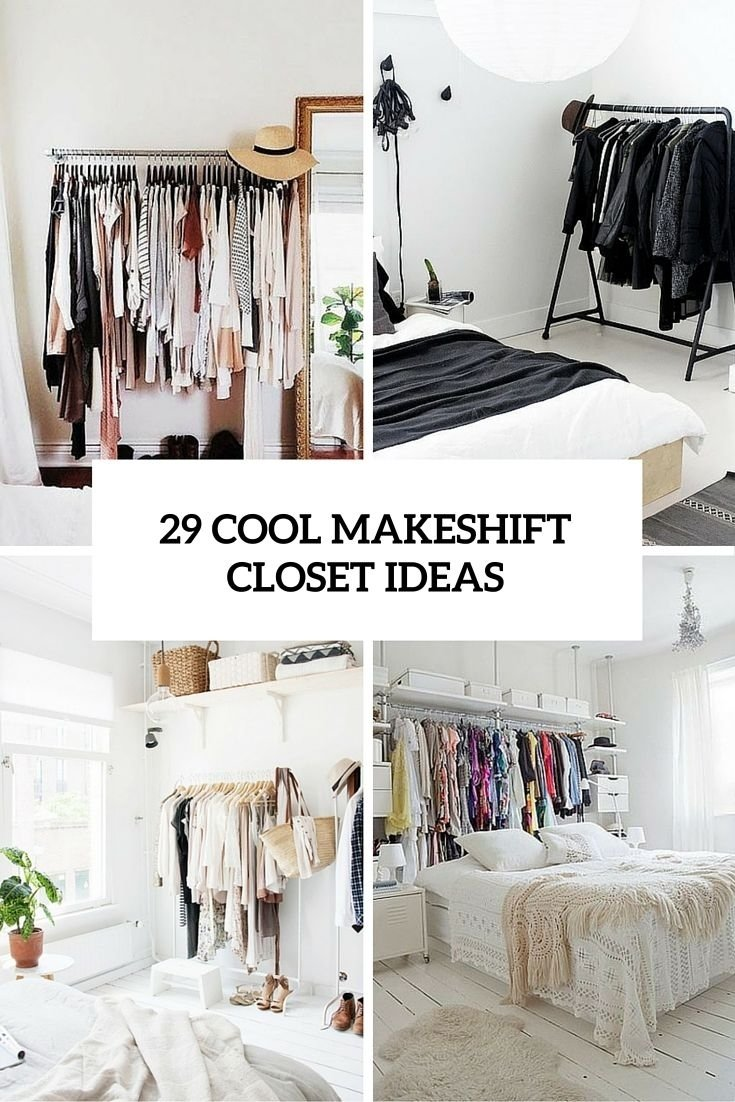 10 Attractive Closet Ideas For Rooms Without Closets storage ideas for small bedrooms without closet pcgamersblog
