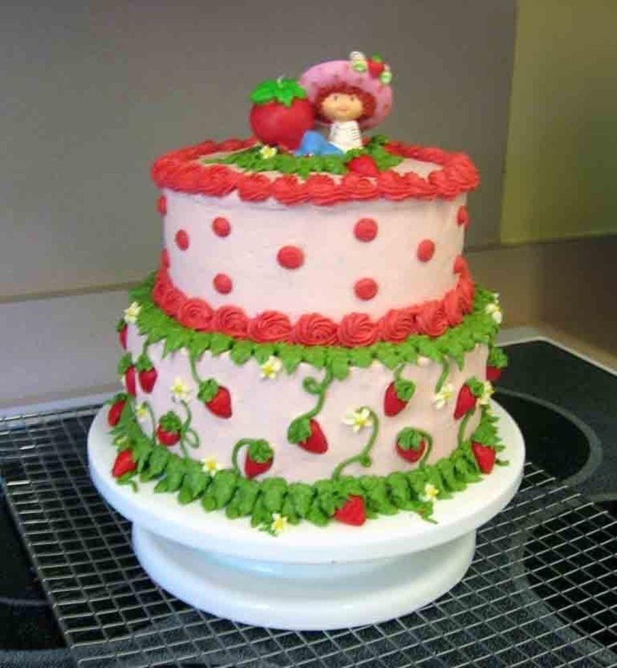 10 Attractive Strawberry Shortcake Birthday Cake Ideas strawberry shortcake birthday cake cakecentral 2020