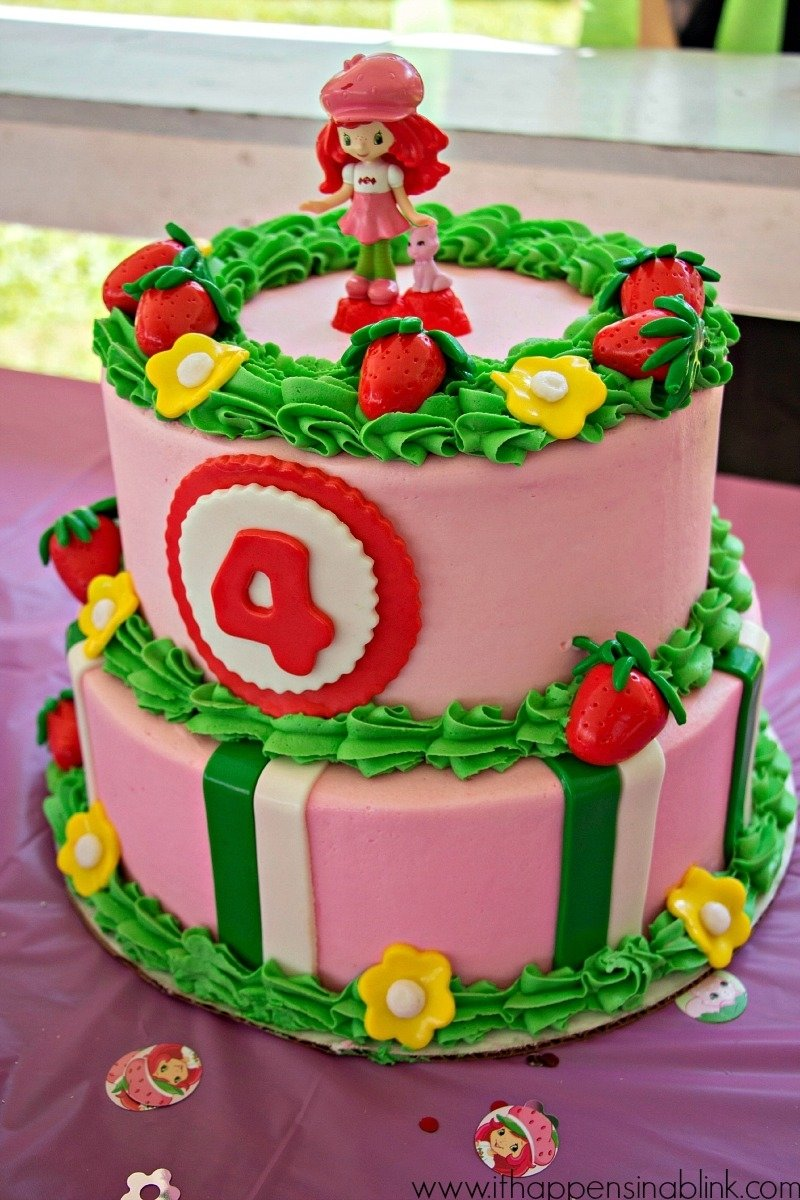 strawberry shortcake birthday cake | top pins of the day | pinterest