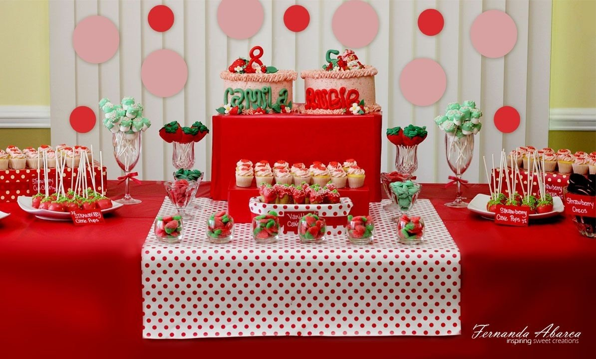 10 Attractive Strawberry Shortcake Birthday Party Ideas strawberry shortcake birthday idea had about four days to bake and 2021