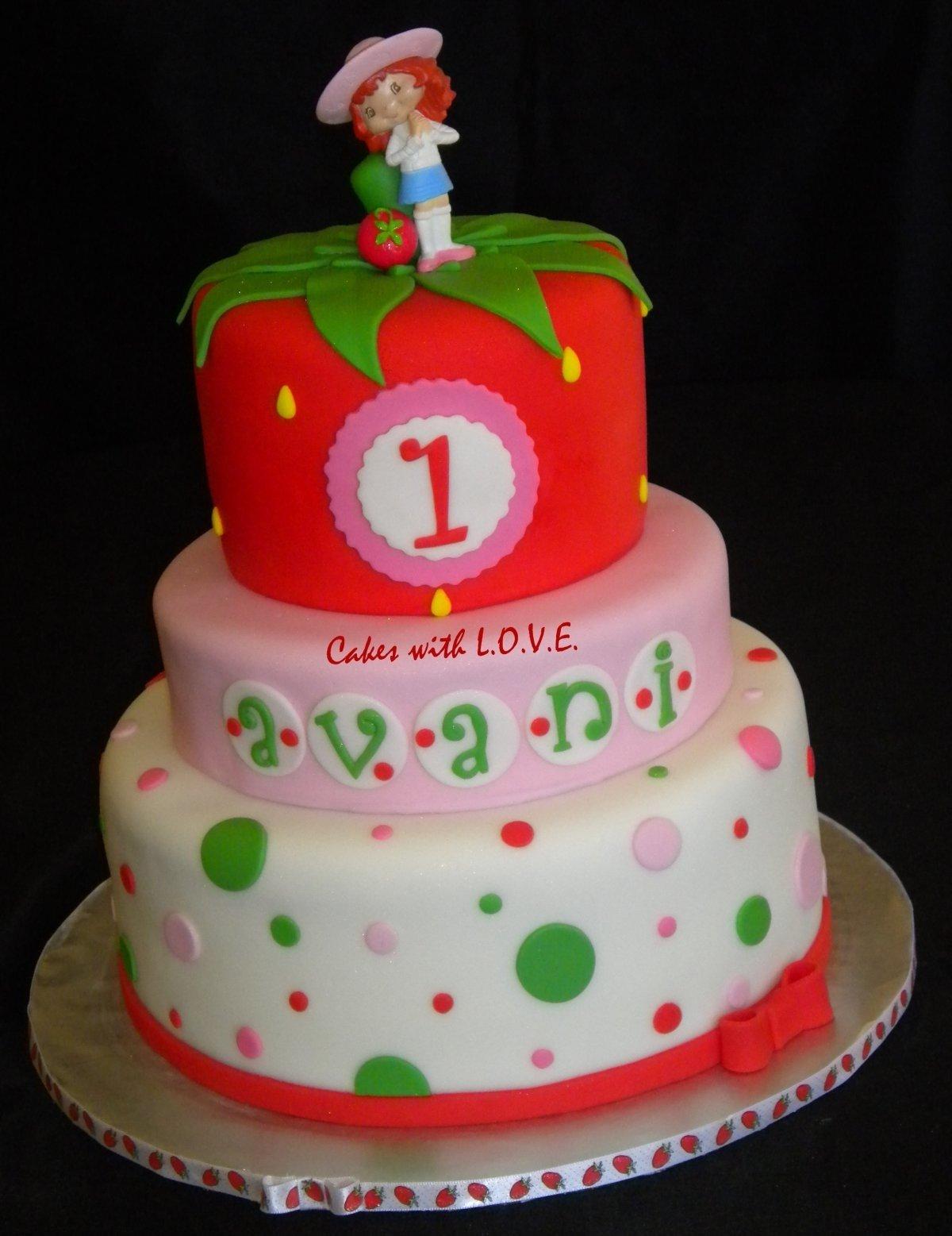 10 Attractive Strawberry Shortcake Birthday Cake Ideas strawberry shortcake sophias middle name avani strawberry 2020