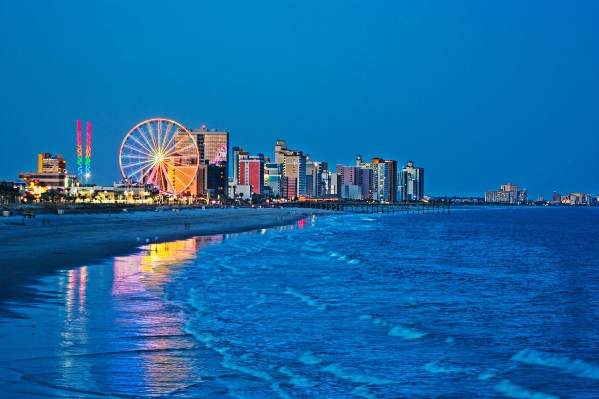10 Unique Family Vacation Ideas East Coast student and group travel myrtle beach kaleidoscope 2020