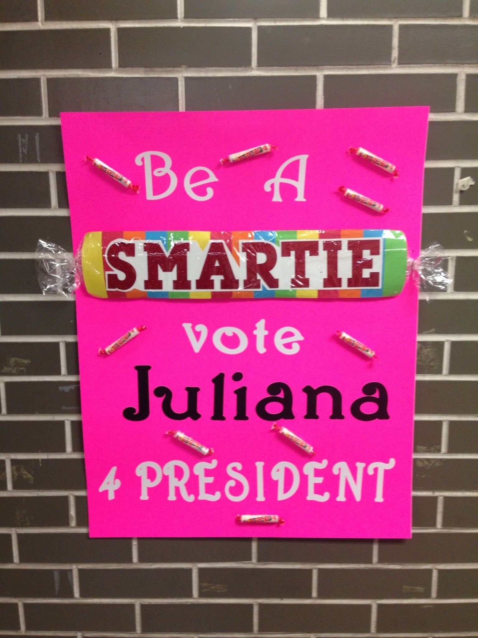 10 Unique Campaign Poster Ideas For Student Council student council election poster juliana pinterest students 12