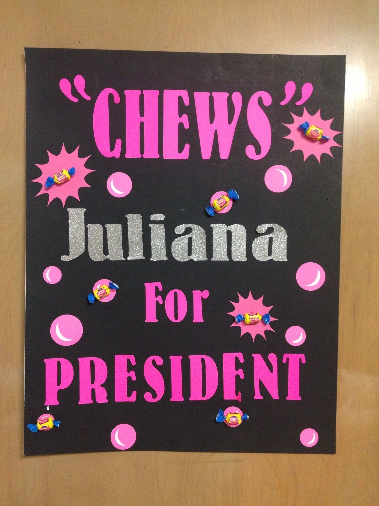 10 Unique Campaign Poster Ideas For Student Council student council election poster juliana pinterest students 13