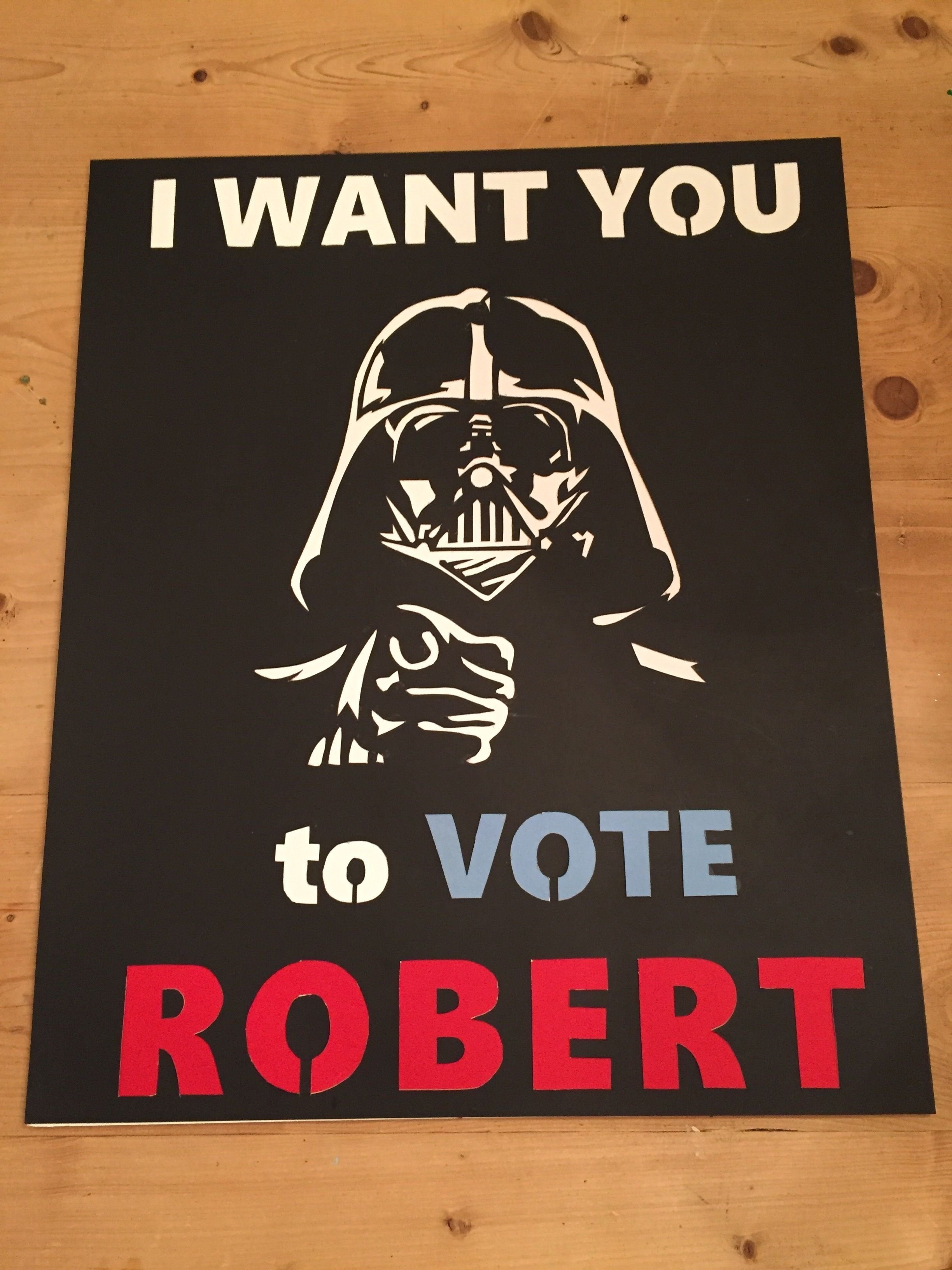 10 Awesome Student Council Campaign Poster Ideas student council poster star wars essential projects pinterest 1 2021