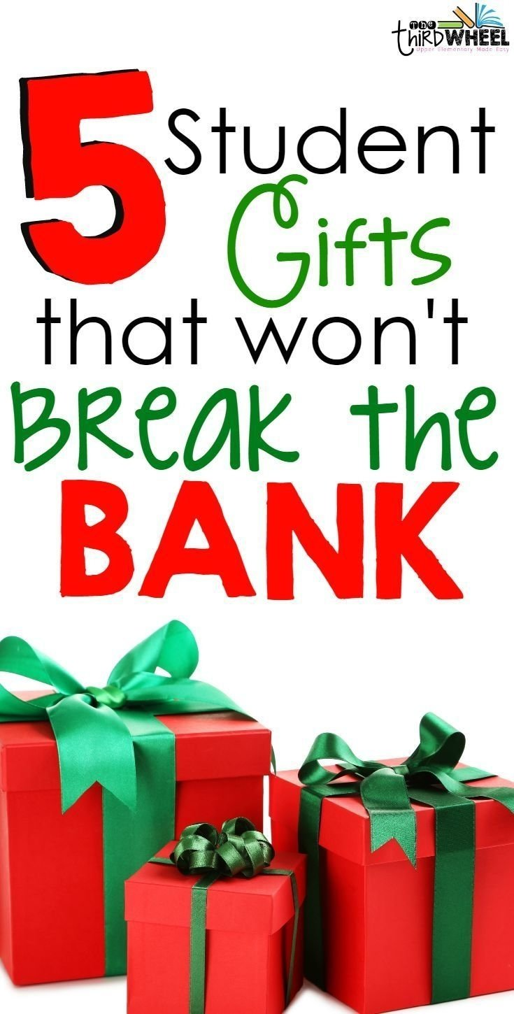 10 Stunning 4Th Grade Christmas Party Ideas student gifts that wont break the bank diy ideas students and gift 1 2020