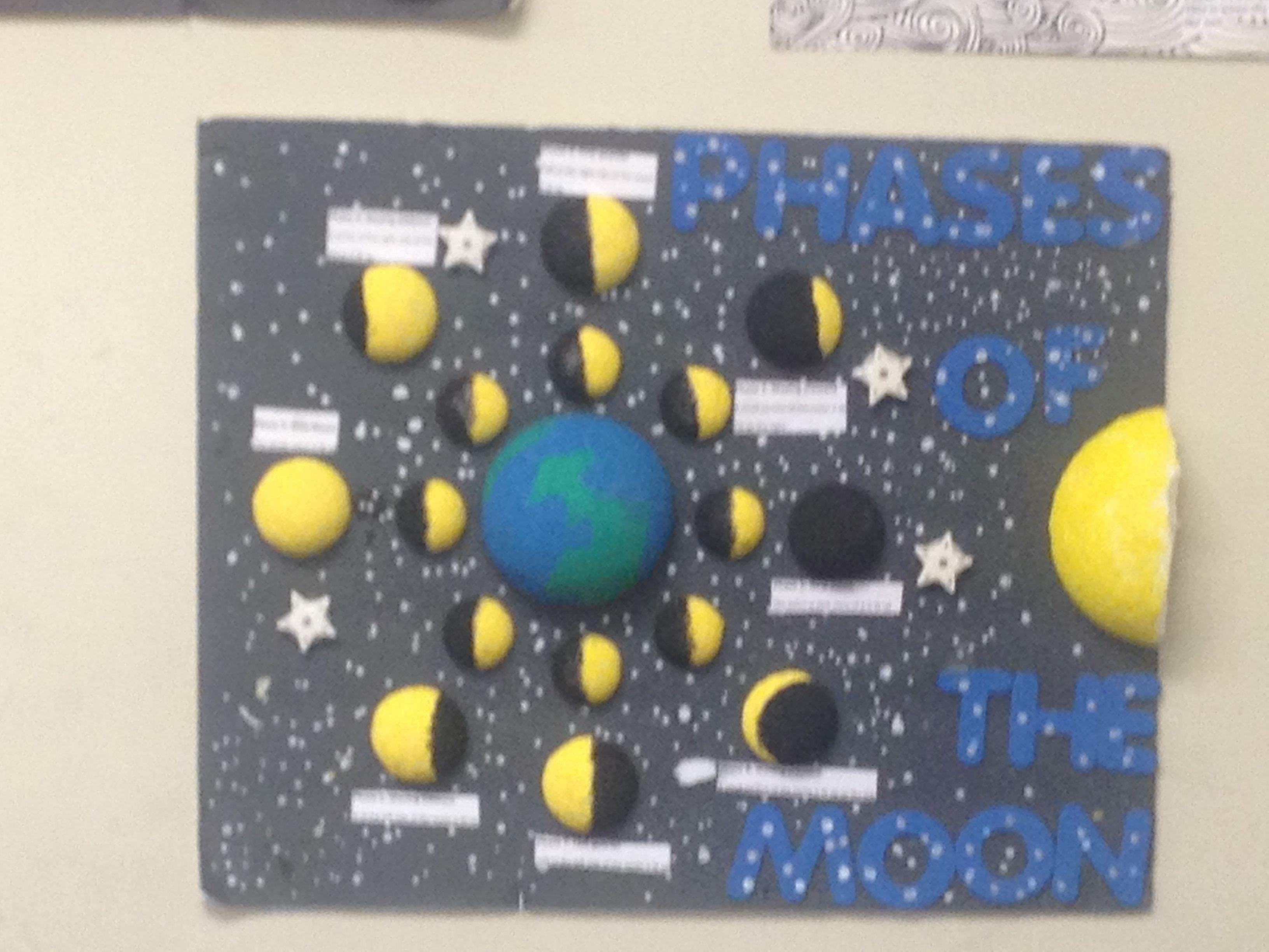 student project: phases of the moon | i ❤ science | pinterest