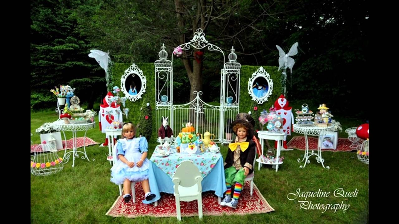 10 Great Alice In Wonderland Decorating Ideas stunning alice in wonderland party decorations youtube 1