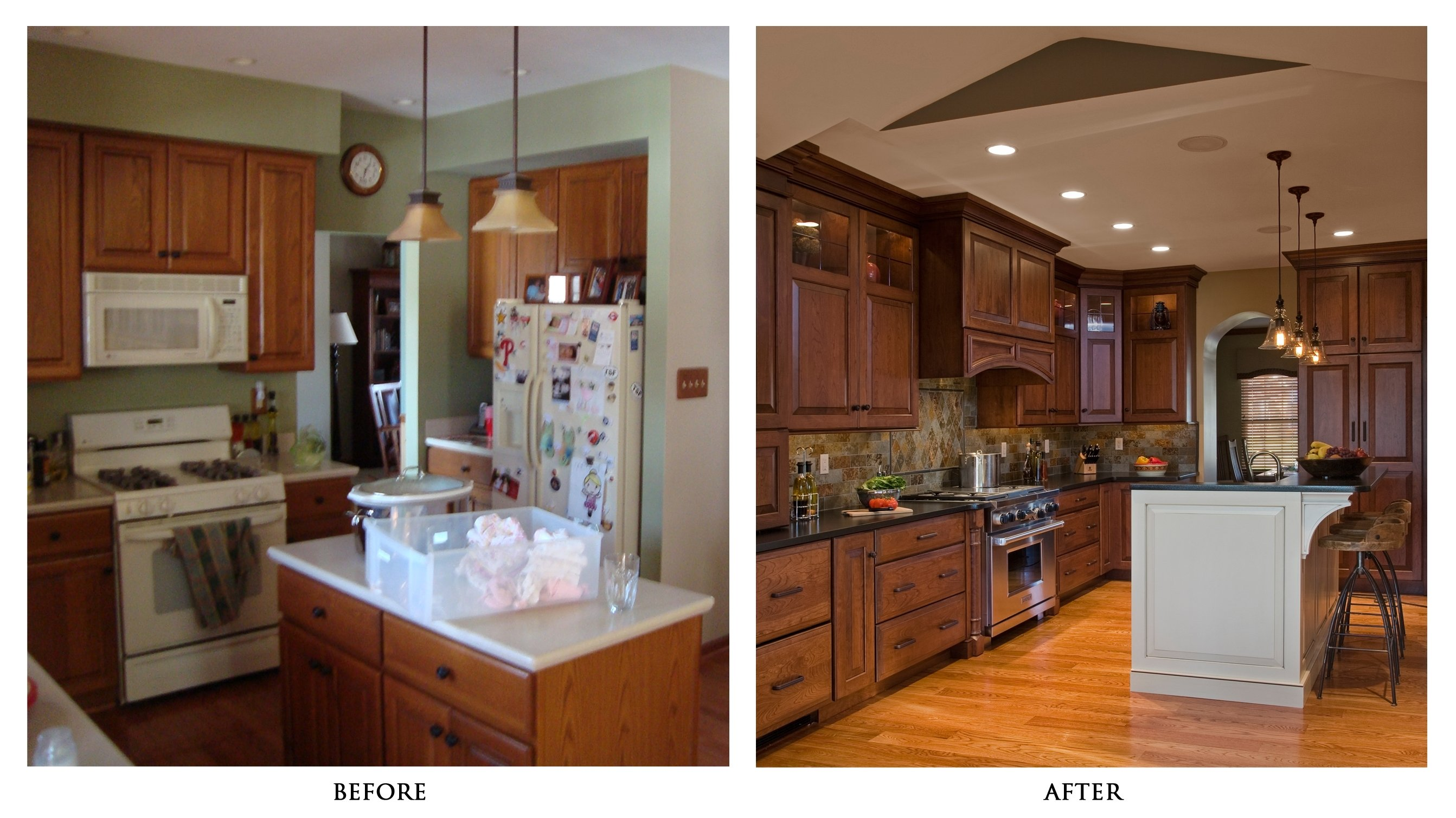 10 Wonderful Kitchen Remodeling Ideas Before And After stunning best of before and after kitchen remo 26698 2021