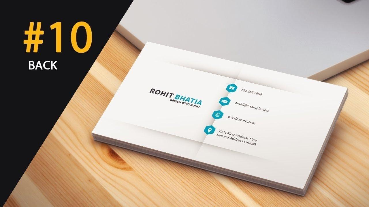 10 wonderful back of business card ideas 2020
