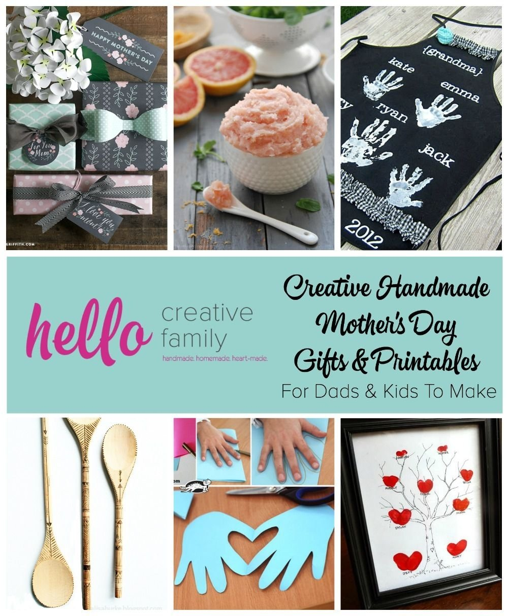 10 Fabulous Creative Homemade Mothers Day Gift Ideas stunning creative handmade day gifts and printables for dads picture 2020