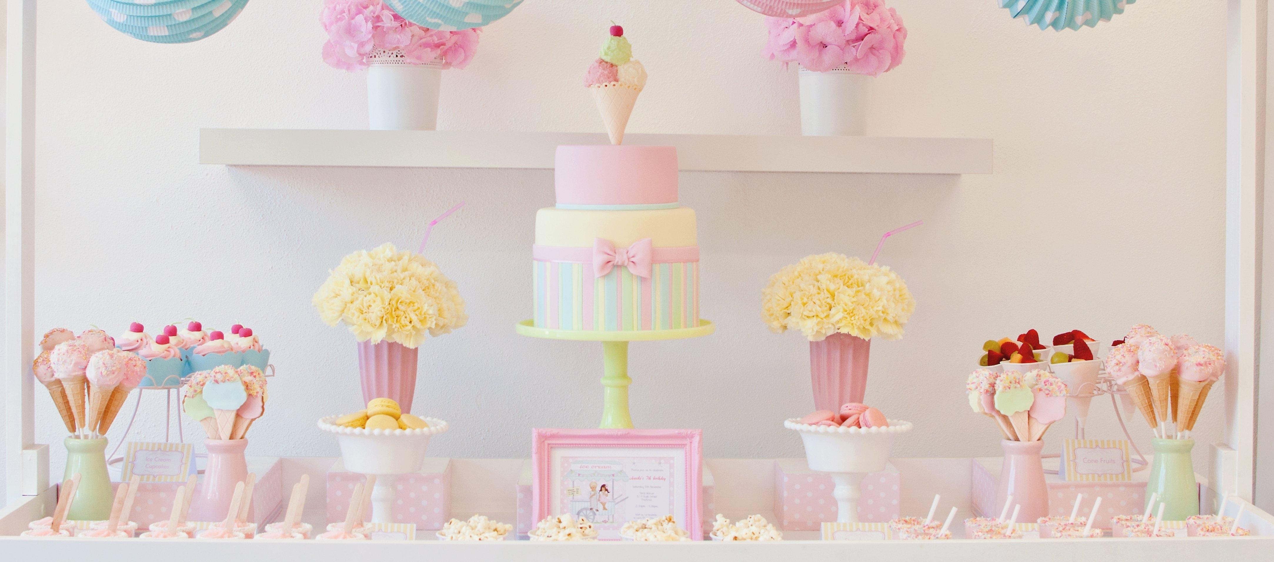 10 Fabulous Ice Cream Birthday Party Ideas stunning ice cream birthday party party inspiration the tomkat 2020
