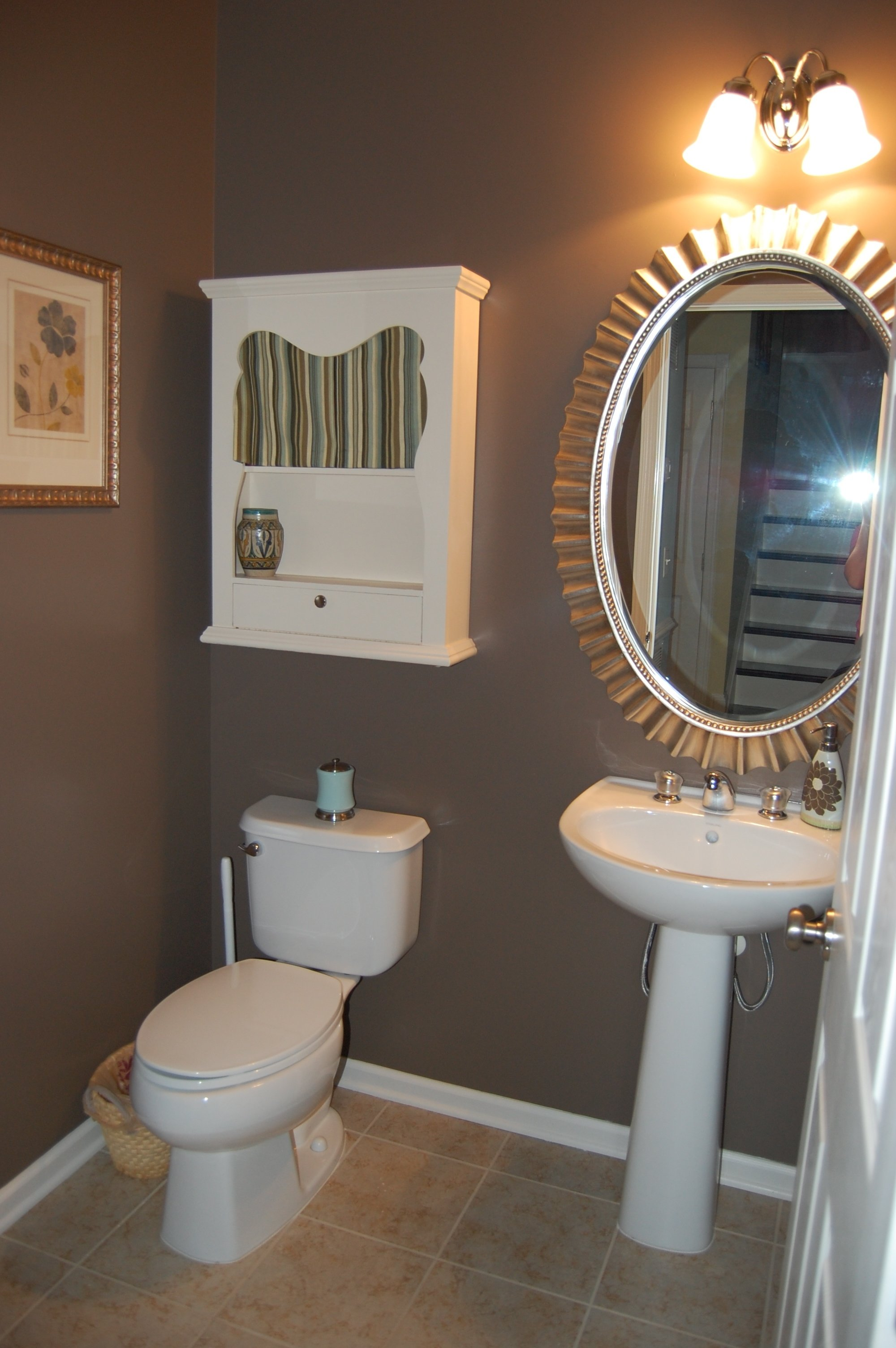 10 Unique Color Ideas For Small Bathrooms stunning lightslategrey bright bathroom colors paint small for from 2020