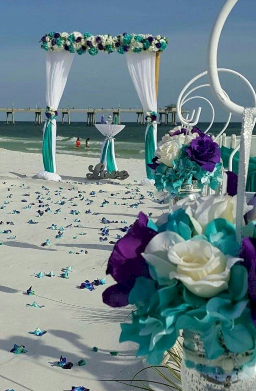 Lavender And Turquoise Wedding | www.topsimages.com