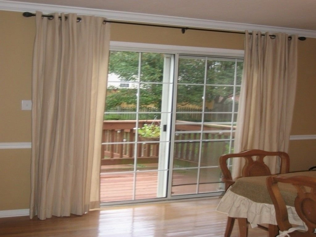stunning tips curtains ideas for sliding glass door window