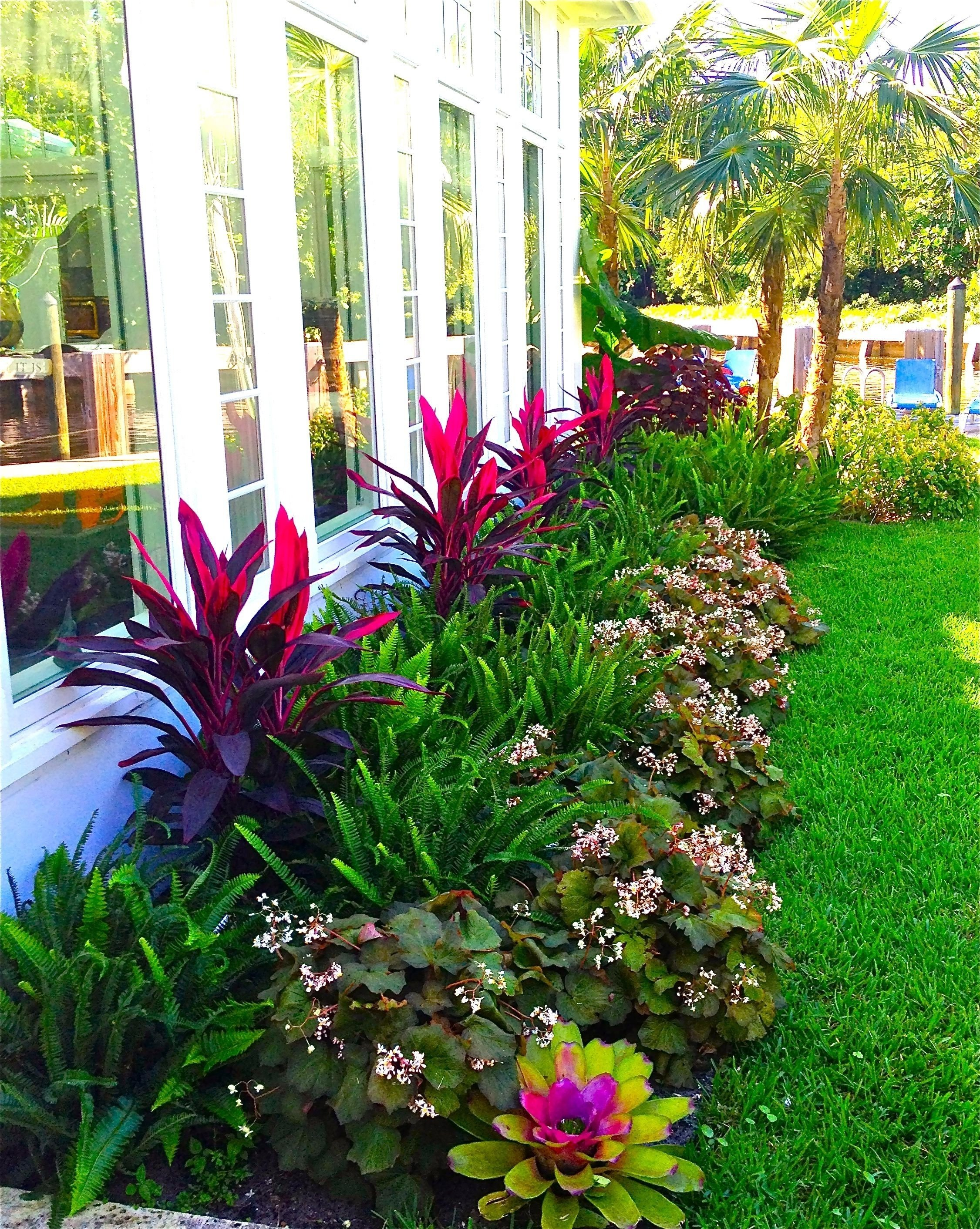 10 Attractive Tropical Landscaping Ideas For Front Yard stunning way to add tropical colors to your outdoor landscaping 2020