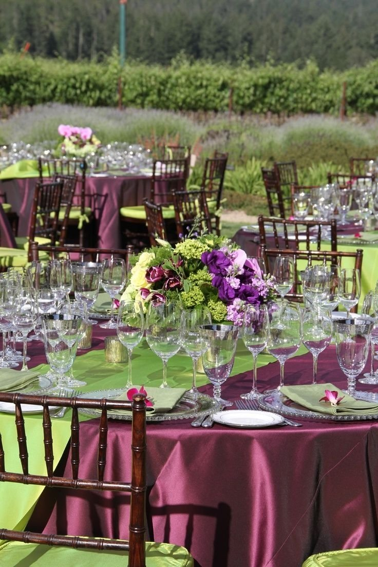 10 Amazing Green And Purple Wedding Ideas