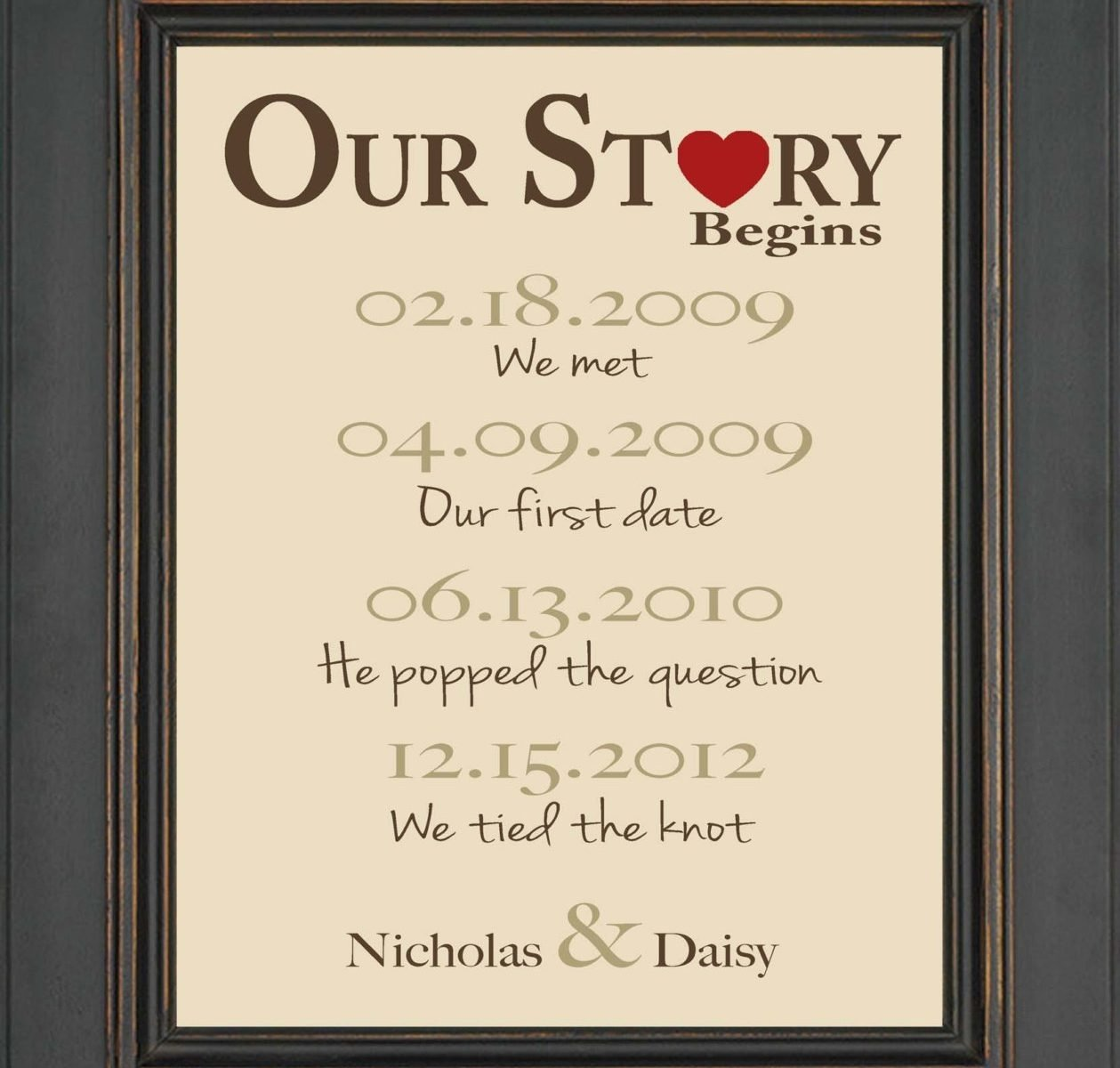 10 Fantastic First Year Anniversary Gift Ideas For Husband