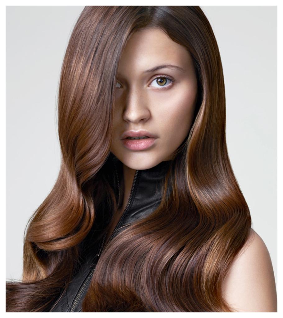 10 Lovely Brunette Hair Color Ideas 2013 stylenoted hair color inspiration and formulation milk chocolate 2021