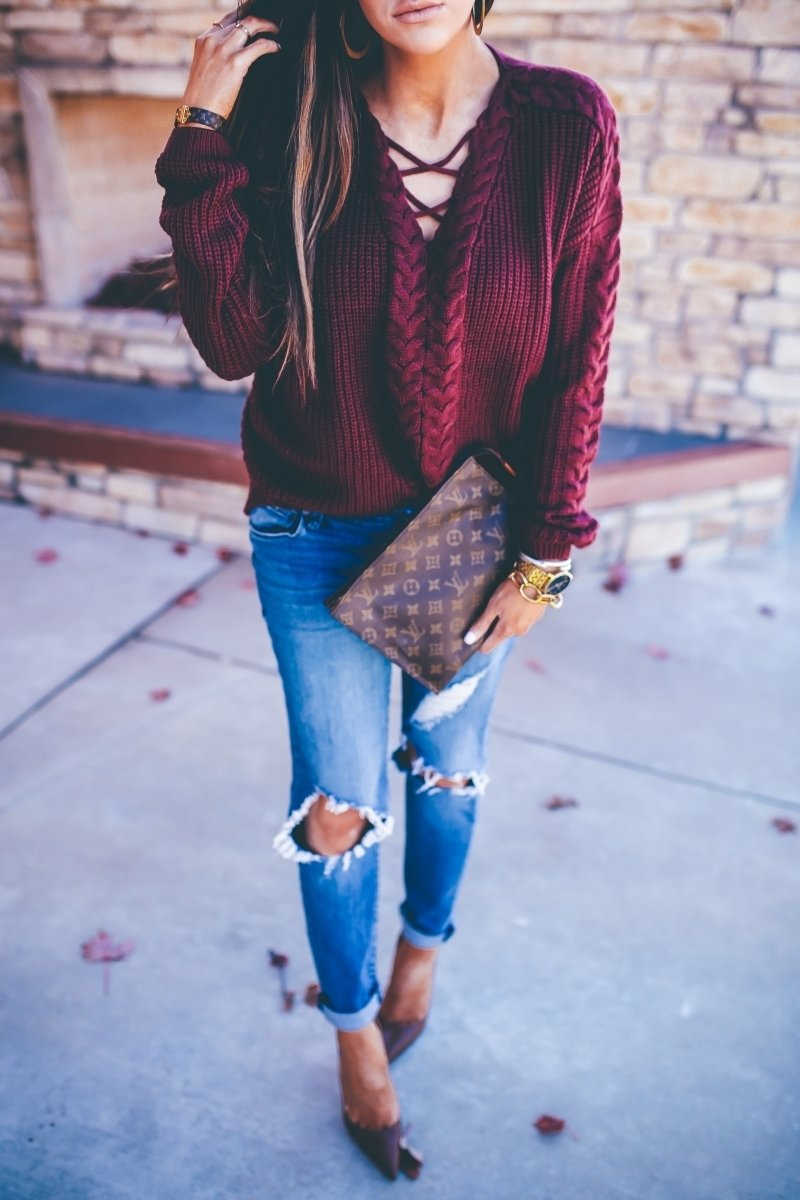 styling boyfriend jeans during this fall – the sweetest thing