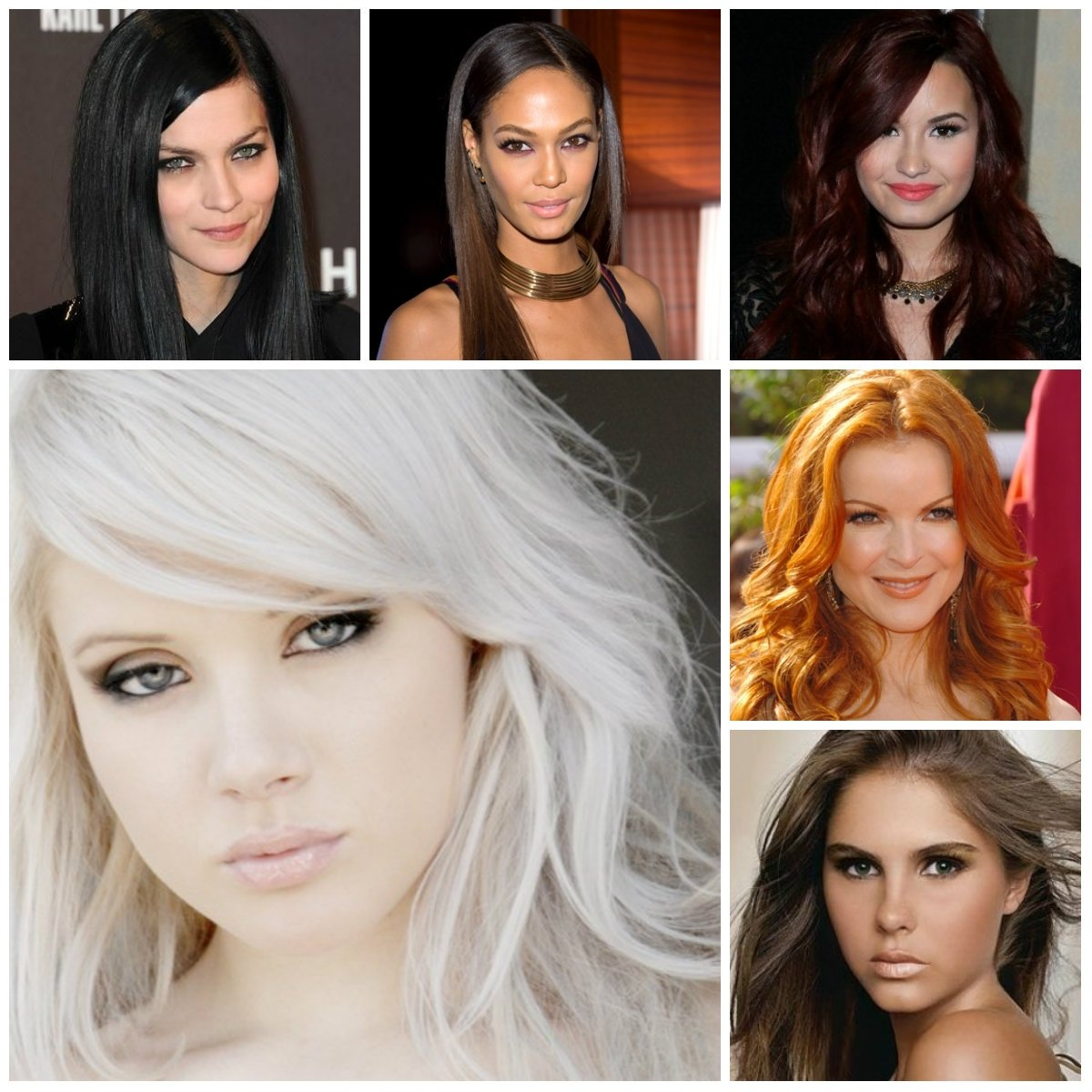 10 Amazing Hair Color Ideas For Pale Skin stylish hair color ideas and your skin tone new haircuts to try 1 2021