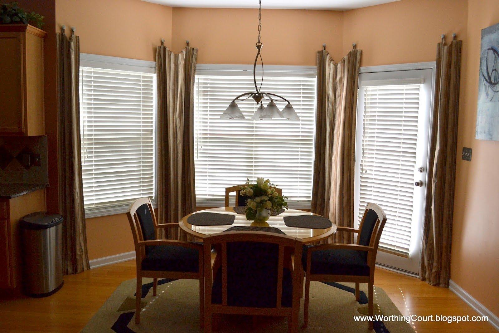 stylish inspiration ideas window treatment for bay windows