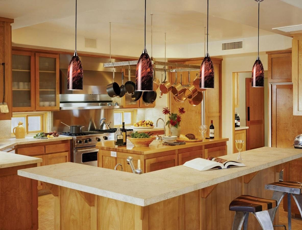 stylish kitchen island pendant lighting ideas — incredible homes
